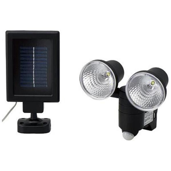 【クリックで詳細表示】【屋外用】ソーラー式LEDセンサーライト SL12LEDS