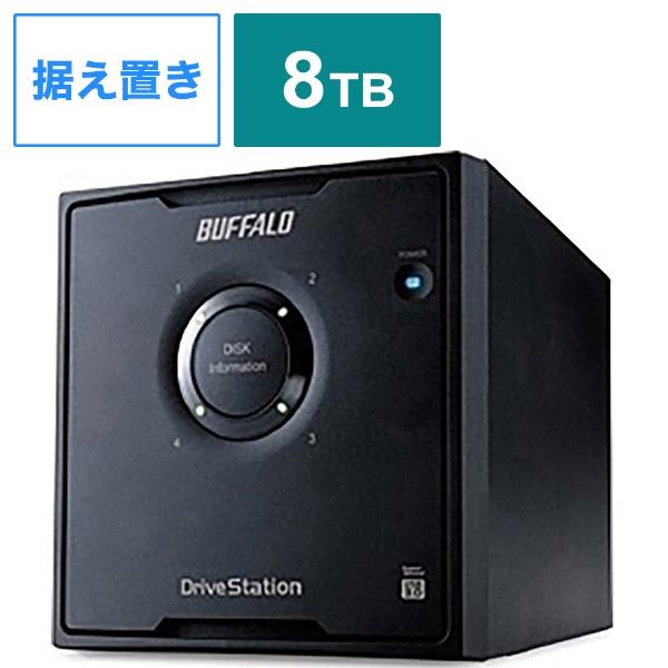 【クリックで詳細表示】外付HDD [USB3.0・8TB] RAID 5対応 HD-QL8TU3/R5J