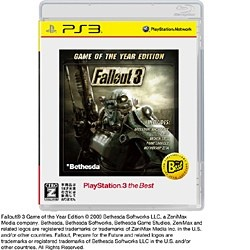 Fallout 3:Game of the Year Edition [PlayStation 3 the Best] 製品画像