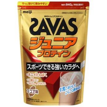 ザバス ジュニアプロテイン ココア味(60食分) 840g