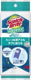 スコッチブライト バスシャイン 抗菌スポンジ(特殊研磨粒子つき) BM-12K