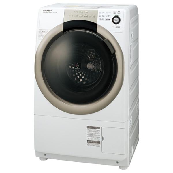 【クリックでお店のこの商品のページへ】[左開き] ドラム式洗濯乾燥機 (洗濯7.0kg/乾燥3.5kg) ES-S70-WL ホワイト系 【ヒーター乾燥機能付】