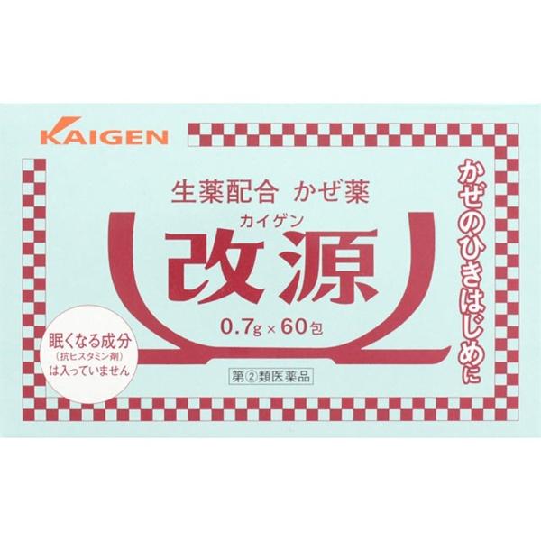 カイゲン 改源 60包