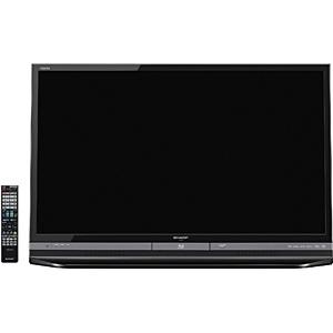 40V型 ブルーレイディスク+500GB HDD内蔵 フルハイビジョン液晶テレビ LC-40DR9-B(USB HDD録画対応)