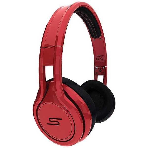 STREET by 50 Limited Edition On-Ear Wired Headphone [Red]