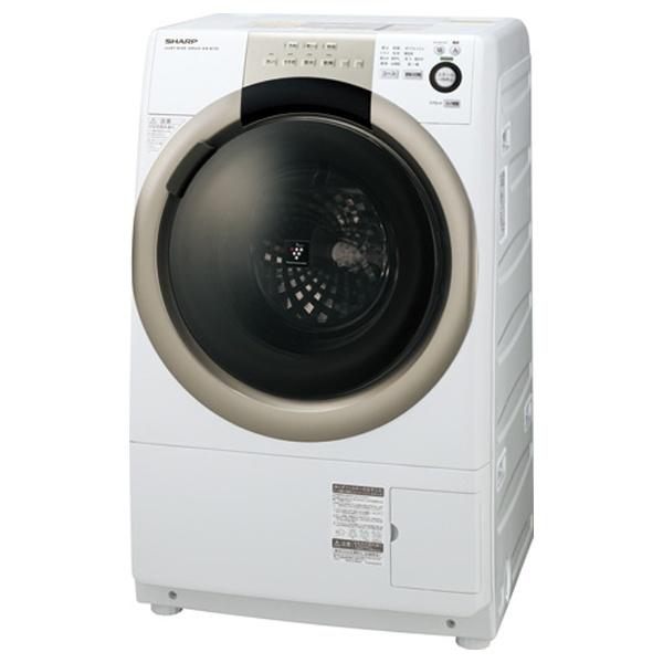 【クリックで詳細表示】[右開き] ドラム式洗濯乾燥機 (洗濯7.0kg/乾燥3.5kg) ES-S70-WR ホワイト系 【ヒーター乾燥機能付】