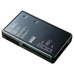 【クリックでお店のこの商品のページへ】USB2.0 マルチカードリーダライタ(ブラック) ADR-MLTKN2BK