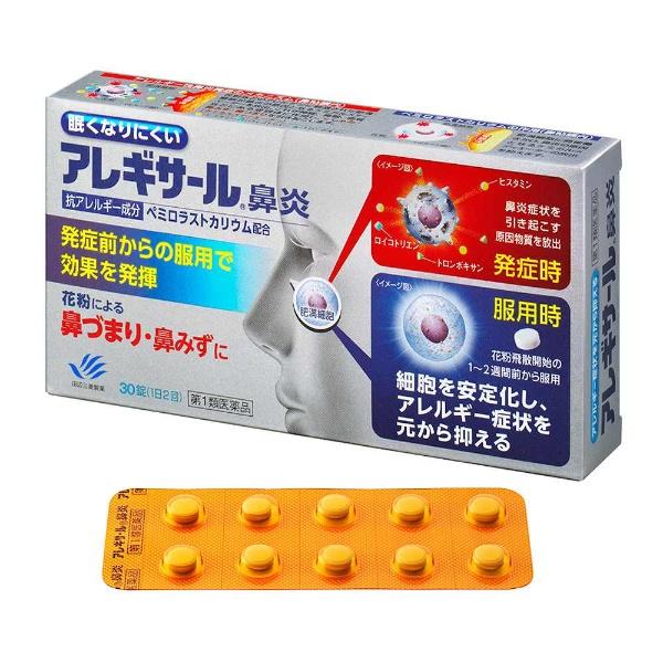 田辺三菱製薬 アレギサール鼻炎 30錠