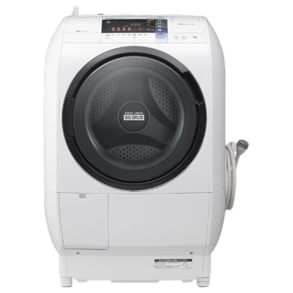 [左開き] ドラム式洗濯乾燥機 「ヒートリサイクル 風アイロン ビッグドラム」(洗濯9.0kg/乾燥6.0kg) BD-V5700L-W ピュアホワイト 【洗濯槽自動お掃除・ヒーター乾燥機能付】