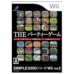 D3パブリッシャー SIMPLE 2000シリーズWii Vol.2 THE パーティーゲーム