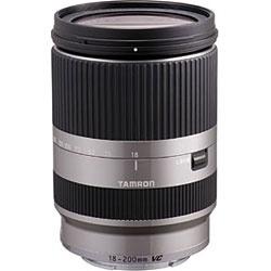 【クリックで詳細表示】交換レンズ 18-200mm F/3.5-6.3 Di III VC ソニーNEX「Eマウント」用 B011【ソニーEマウント】(シルバー)