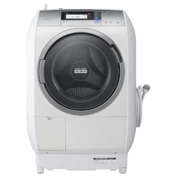 [左開き] ドラム式洗濯乾燥機 「ヒートリサイクル 風アイロン ビッグドラム」(洗濯10.0kg/乾燥6.0kg) BD-V9700L-S シルバー 【洗濯槽自動お掃除・ヒーター乾燥機能付】