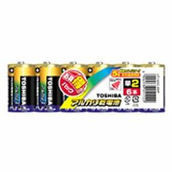 アルカリ1 アルカリ乾電池 単2形 6本パック LR14AG 6MP