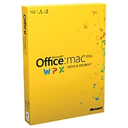 Office for Mac Home and Student 2011 �t�@�~���[�p�b�N