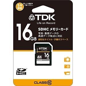 【クリックで詳細表示】16GB・Class10対応SDHCカード T-SDHC16GB10