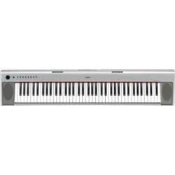 <ビックカメラ> キーボード piaggero(ピアジェーロ)(76鍵盤/シルバー) NP-31S