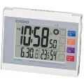 "Electric wave alarm clock ""living environment news clock"" DQL-210J-7JF"