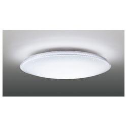 リモコン付LEDシーリングライト 「E-CORE キラキラ Ring」 (~8畳) LEDH94054-LC 調光・調色(白色+電球色)【日本製】