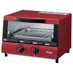 オーブントースター 「やきたて」(1000W) KAJ-A100-R レッド