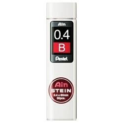 【クリックで詳細表示】[シャープ替芯] Ain 替芯 シュタイン (硬度:B、芯径:0.4mm、30本入り) C274-B