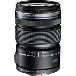 【クリックで詳細表示】カメラレンズ M.ZUIKO DIGITAL ED 12-50mm F3.5-6.3 EZ【マイクロフォーサーズマウント】(ブラック)
