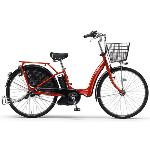 【クリックで詳細表示】26型 電動アシスト自転車 PAS Raffini L(エスニックレッド/内装3段変速) 15PM26RL【2015年モデル】
