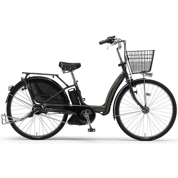 【クリックで詳細表示】26型 電動アシスト自転車 PAS Raffini L(マットグラファイト/内装3段変速) 15PM26RL【2015年モデル】