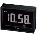 Electric wave alarm clock DQD-S02NJ-1JF (black)