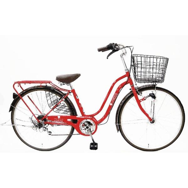 【クリックでお店のこの商品のページへ】26型 自転車 レベッツァタウン(レッド/6段変速) LP266HDBAA 【2015年モデル】