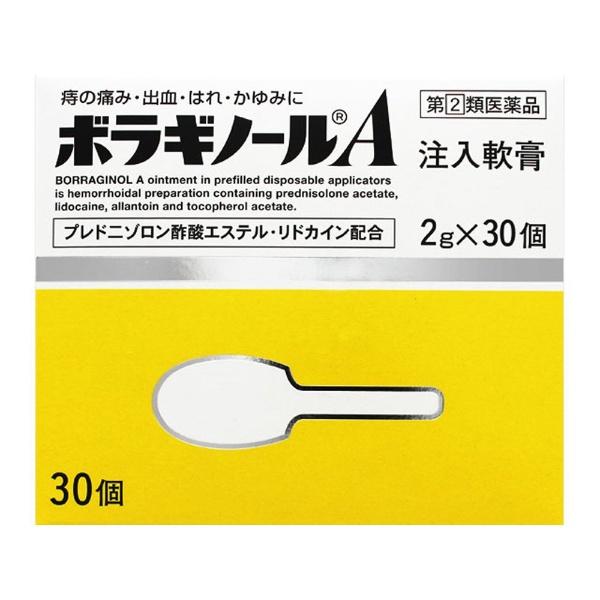 ボラギノールA注入軟膏 2g×30個