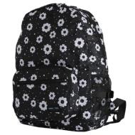 Folding rucksack H0006-03 modern flower black