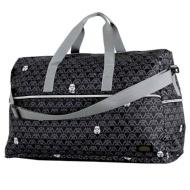 Folding large-scale Boston bag (dome type) H0004 Vader black