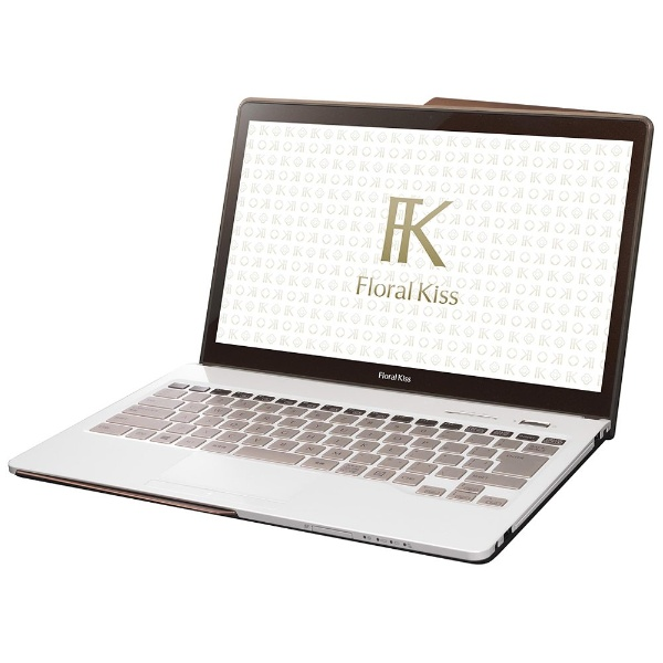 FMV LIFEBOOK Floral Kiss CH75/W FMVC75WW [Clear White with Brown]
