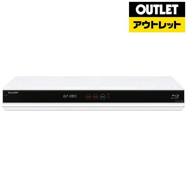 シャープ BD-W1800W BD/DVDレコーダー