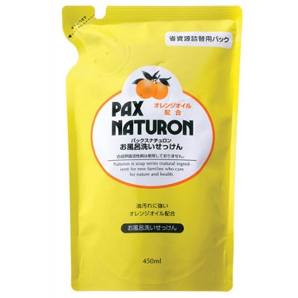 パックス ナチュロン お風呂洗い石けん 詰替用 450ml