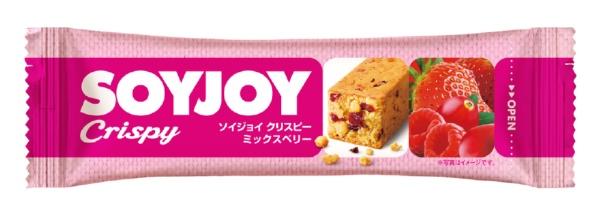 大塚製薬 SOYJOY Crispy (ソイジョイ クリスピー) ミックスベリー 25g
