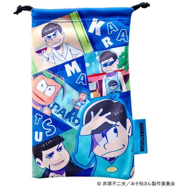おそ松さん クリーナー巾着(ゲーム機用) OSG01-2 [カラ松 Ver.]