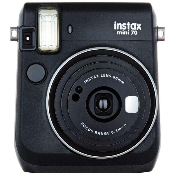 instax mini 70 チェキ [ブラック]