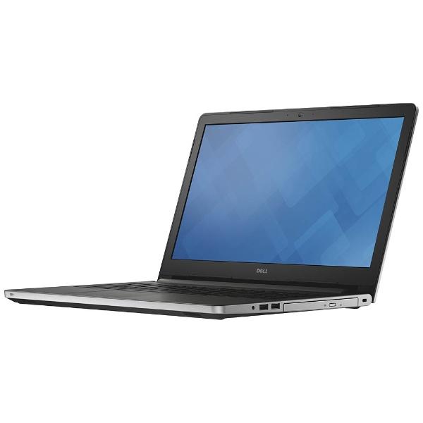 15.6型ノートPC [Office付き・Win10 Home・Core i5・HDD 1TB・メモリ 4GB] Inspiron 15 5000シリーズ 5559(シルバー) NI55-6NHBS (20..