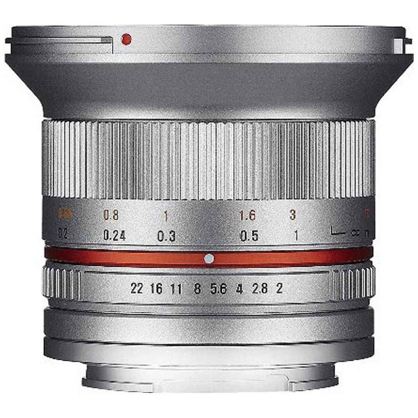 12mm F2.0 NCS CS シルバー [マイクロフォーサーズ用]