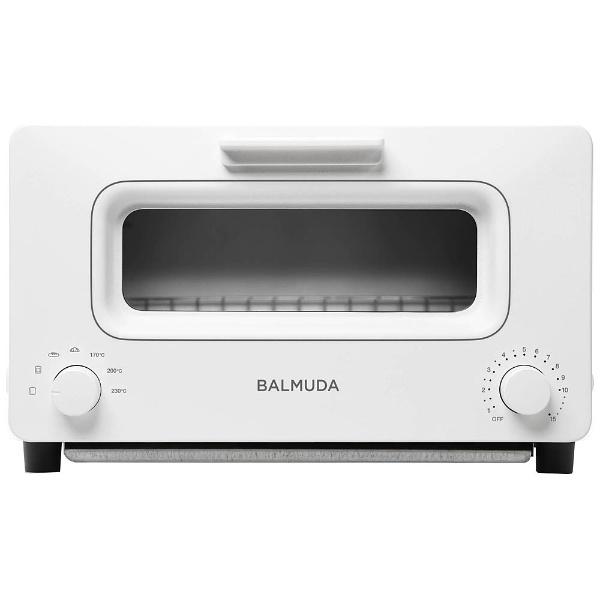 オーブントースター 「BALMUDA The Toaster」(1300W) K01E-WS WhitexSilver
