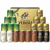 Ebisu five kinds set YHABN5DT [beer gift]