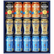 The Premium Malt's four kinds set VA40N [beer gift]