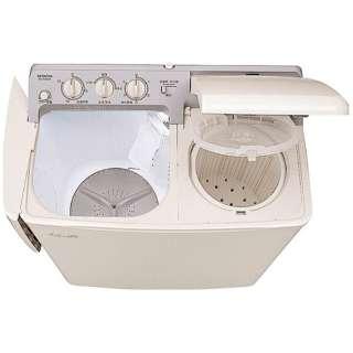 PS-H45L-CP 2槽式洗濯機 青空 パインベージュ [洗濯4.5kg /乾燥機能無 /上開き]