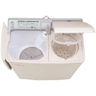 PA-T45K5-CP 2槽式洗濯機 青空 パインベージュ [洗濯4.5kg /乾燥機能無 /上開き]