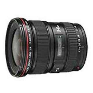 カメラレンズ EF17-40mm F4L USM ブラック [キヤノンEF /ズームレンズ]