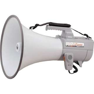 ショルダーメガホン (30W・ホイッスル音付) ER-2130W