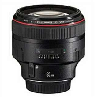 カメラレンズ EF85mm F1.2L II USM [キヤノンEF /単焦点レンズ]