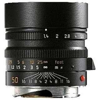 カメラレンズ M F1.4/50mm ASPH. SUMMILUX(ズミルックス) ブラック 11891C [ライカM /単焦点レンズ]