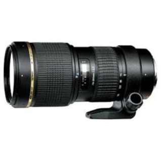 カメラレンズ SP AF70-200mm F/2.8 Di LD IF MACRO ブラック A001 [キヤノンEF /ズームレンズ]